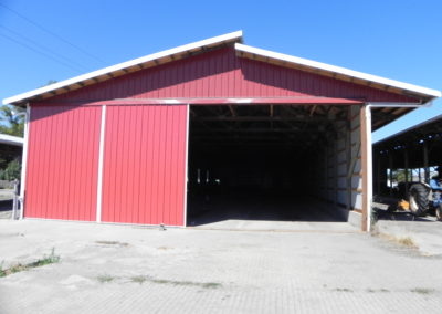 24. New siding, enclosing an old barn