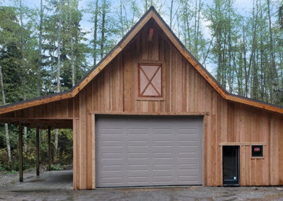 26. Garage and carport